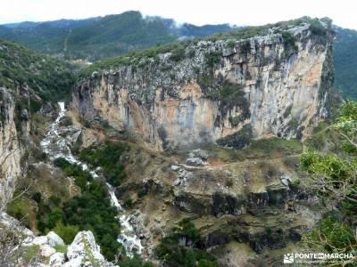 Parque Natural Cazorla-Sistema Prebético; mochilas aventura monasterio de piedra parque mochilas pa